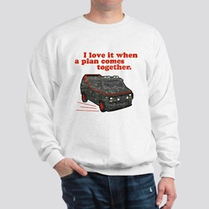 A-Team van & quote Sweatshirt